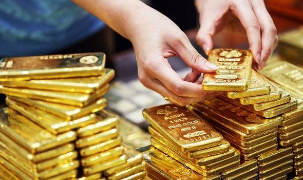 """Giá vàng phiên cuối năm vẫn giữ đà tăng """"phi mã"""""""