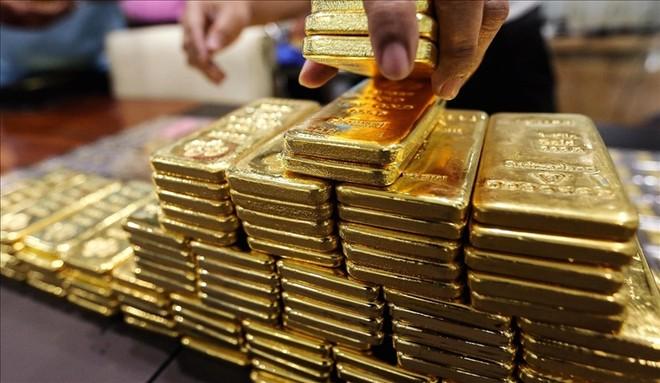 Giá vàng trong nước tiếp tục giảm trong phiên hôm nay