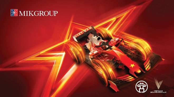 MIKGroup đồng hành cùng giải đua F1