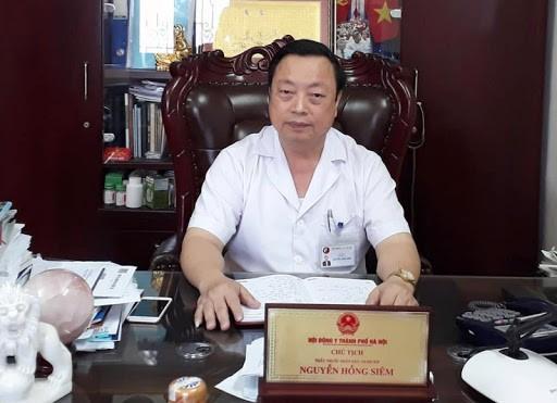 Thầy thuốc nhân dân, Tiến sĩ, BSCKII Nguyễn Hồng Siêm