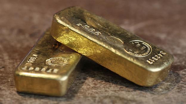 Giá vàng đang giảm mạnh trên thị trường thế giới