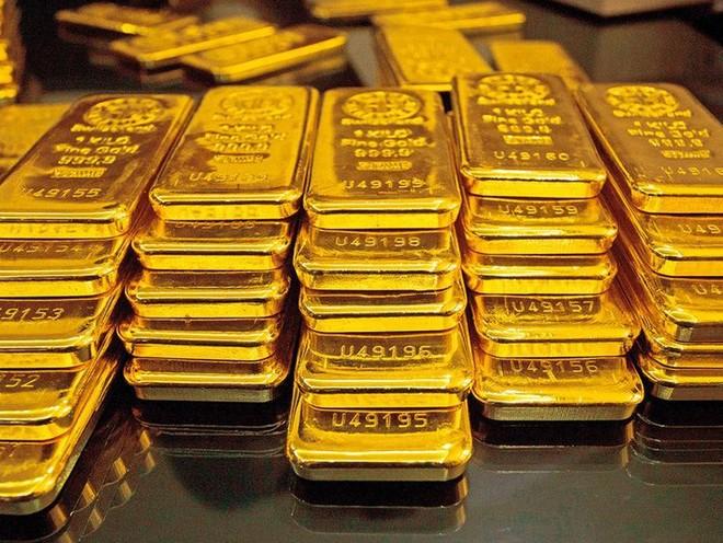 Giá vàng đã giảm mạnh trong tuần qua