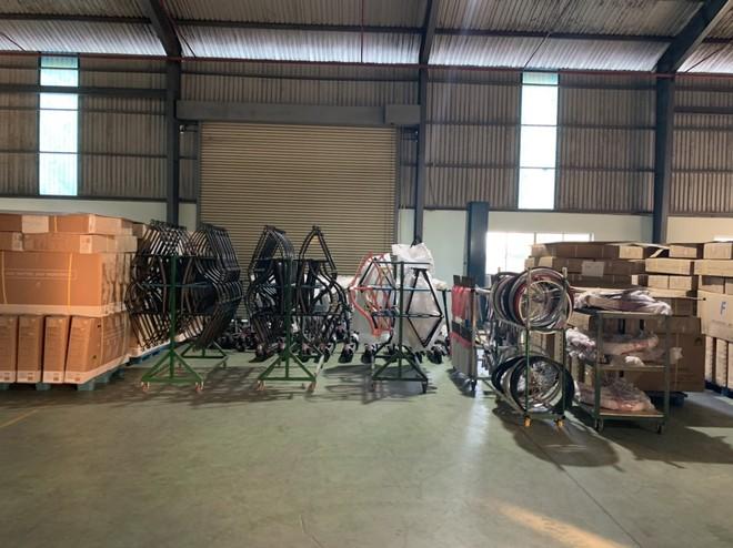 Nhập đầy đủ linh kiện xe đạp, chỉ qua công đoạn gia công lắp ráp đơn giản nhưng doanh nghiệp lại ghi xuất xứ Việt Nam để xuất khẩu