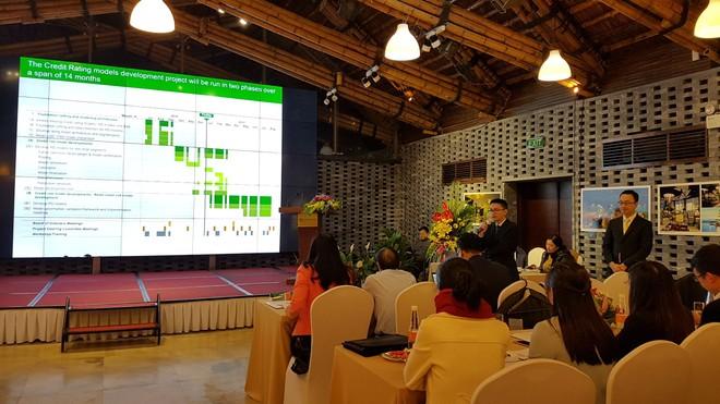 Vietcombank trình bày kết quả xây dựng mô hình với Ngân hàng Nhà nước