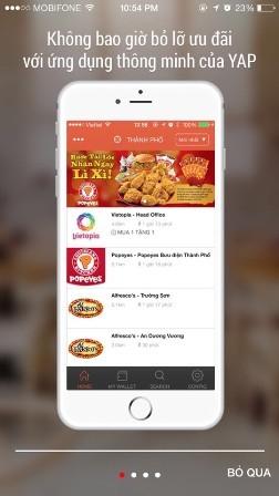 YAP - ứng dụng mới trên ĐTDĐ lần đầu tiên xuất hiện tại Việt Nam