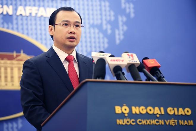 Ông Lê Hải Bình: Những yêu sách biển và hành động liên quan của các quốc gia cần phù hợp luật pháp quố