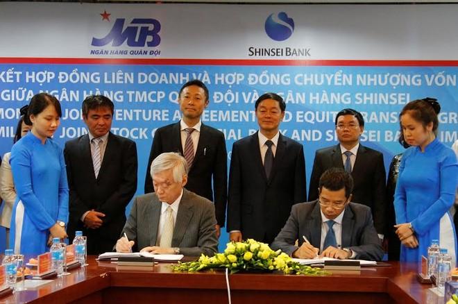 MB và Shinsei Bank (Nhật Bản) liên doanh tài chính tiêu dùng