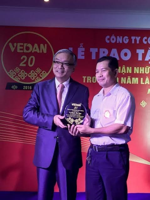 Buổi lễ vinh danh mang đến giá trị tinh thần, tạo động lực mạnh mẽ cho đội ngũ nhân viên gắn bó dài lâu của Vedan Việt Nam