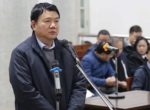 Truy vấn bị cáo Đinh La Thăng, thẩm vấn bị cáo Phùng Đình Thực ảnh 1