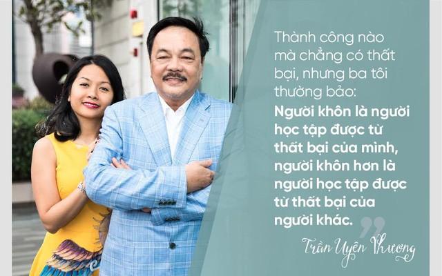 Hai cha con doanh nhân: Trần Quí Thanh và Trần Uyên Phương