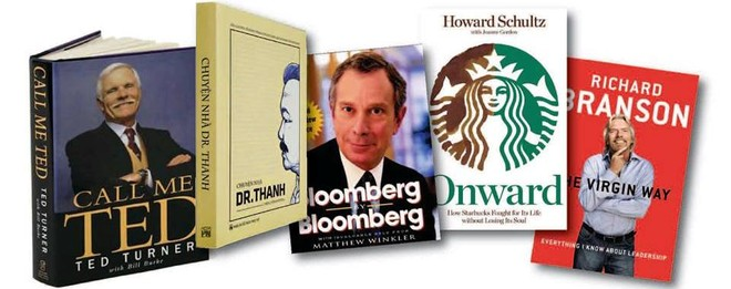 Tinh thần khởi nghiệp trong những cuốn tự truyện của các doanh nhân nổi tiếng