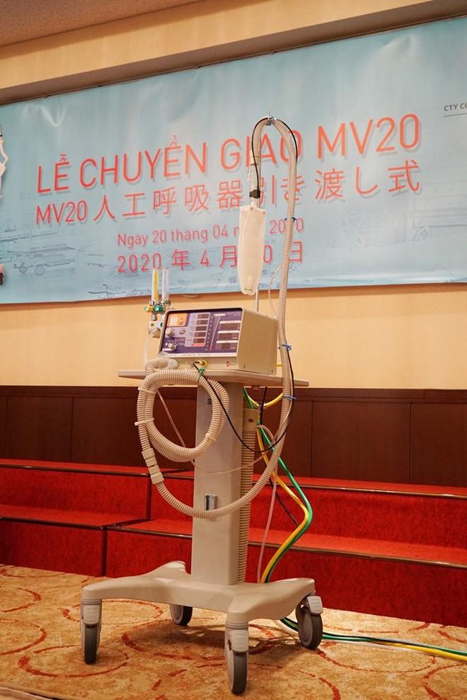 """Máy thở MV20 sử dụng công nghệ tiên tiến nhưng gọn nhẹ, phù hợp với chiến lược phòng chống dịch """"4 tại chỗ"""" của Việt Nam"""