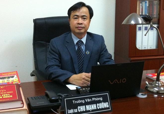 Luật sư Chu Mạnh Cường – Trưởng VPLS Danh Chính
