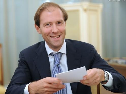 Bộ trưởng Bộ Công nghiệp và Thương mại Nga Denis Manturov