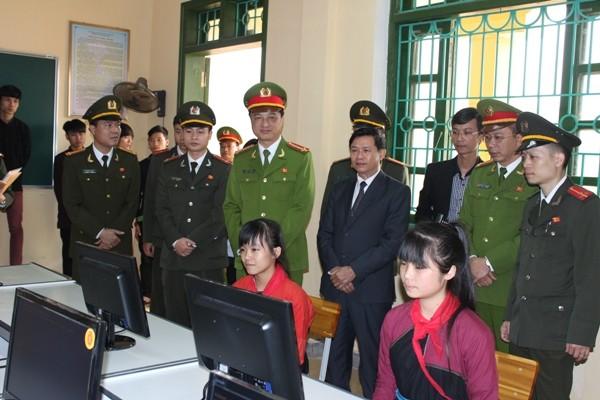 Đoàn công tác CATP Hà Nội thăm khu di tích ATK ảnh 2