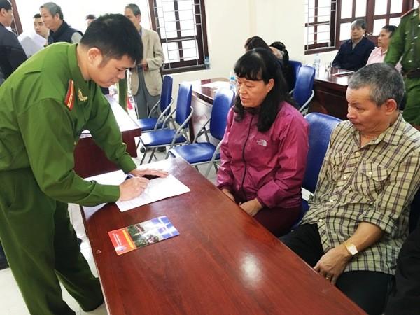Niềm vui của nhân dân là động lực làm việc cho cán bộ chiến sỹ CAQ Hoàng Mai ảnh 1