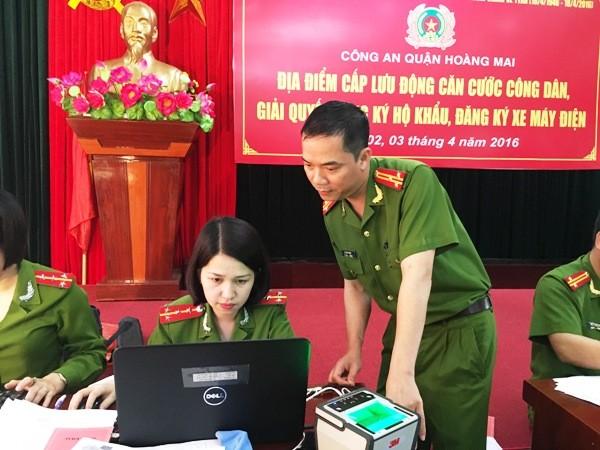 Niềm vui của nhân dân là động lực làm việc cho cán bộ chiến sỹ CAQ Hoàng Mai ảnh 3