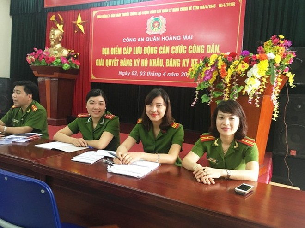 Niềm vui của nhân dân là động lực làm việc cho cán bộ chiến sỹ CAQ Hoàng Mai ảnh 5
