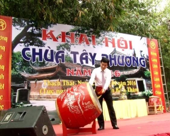 Lễ khai hội chùa Tây Phương