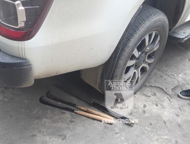 Khẩu súng phát hiện trên chiếc xe ô tô bán tải là K54 ảnh 6