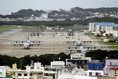 Căn cứ không quân Futenma của quân đội Mỹ