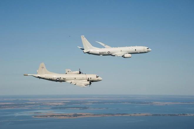 Máy bay Mỹ tuần tra tại Biển Đông hầu như mỗi ngày