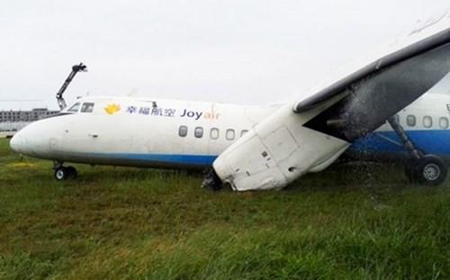 Hiện trường vụ tai nạn hàng không