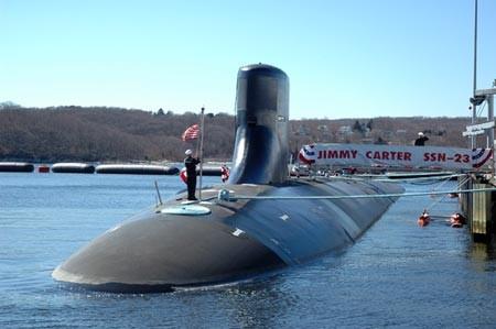 Tàu ngầm USS Jimmy Carter lớp Seawolf của Hải quân Mỹ