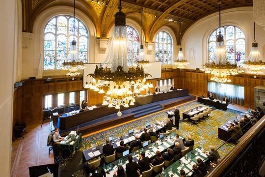 Quang cảnh Tòa Trọng tài thường trực ở The Haugue (Hà Lan)