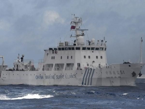 Một tàu hải giám Trung Quốc gần quần đảo Senkaku/Điếu Ngư