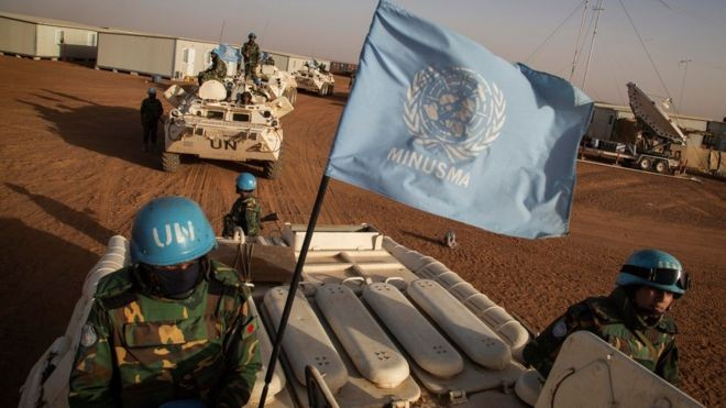 Khoảng 10.000 lính gìn giữ hòa bình của LHQ đang hoạt động tại Mali