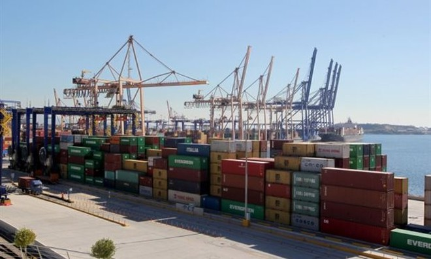 Bến cảng Piraeus của Hy Lạp