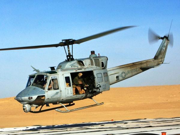 Trực thăng quân sự Bell UH-1 Iroquois (Huey) của Mỹ