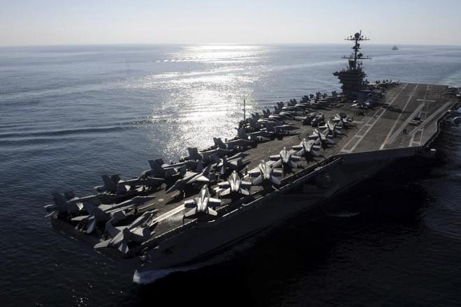 Tàu sân bay USS John C Stennis của Hải quân Mỹ