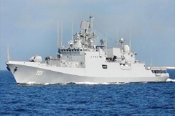 Tàu khu trục INS Teg của Hải quân Ấn Độ