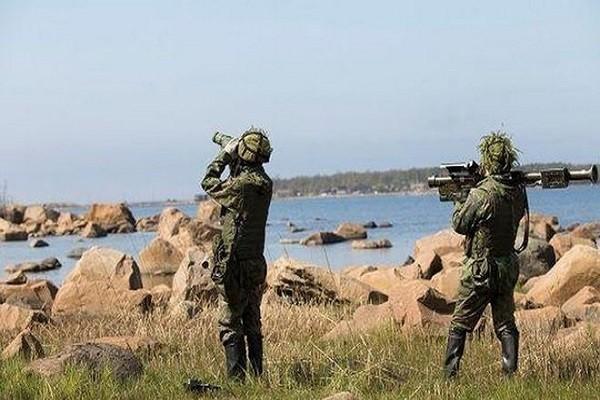 Quân đội Phần Lan có cuộc tập trận đổ bộ đảo hồi tuần trước