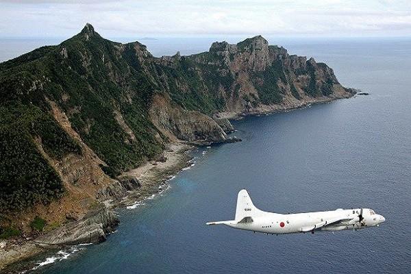 Máy bay P-3C của Nhật Bản tuần tra quần đảo Senkaku/Điếu Ngư