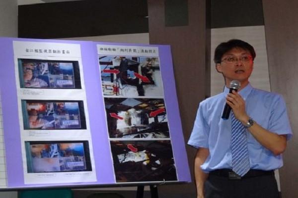 Công tố viên Cao Hùng, Huang Yuan-kuan phát biểu tại buổi họp báo hôm 3-7