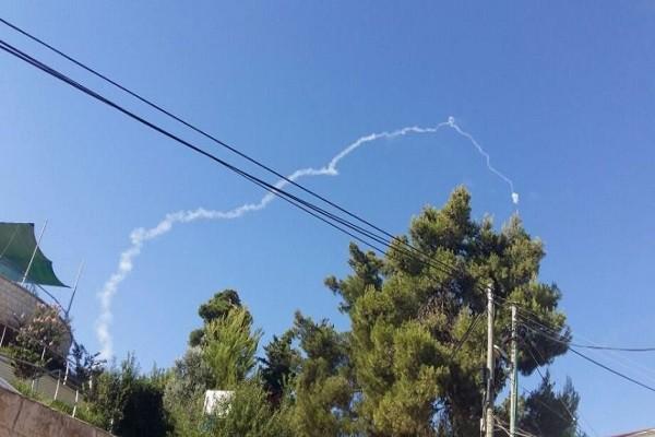 Đường đi của tên lửa Patriot được bắn đi hôm 17-7