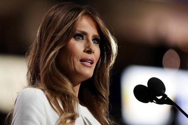 Bà Melania Trump, vợ ứng viên Tổng thống Mỹ của đảng Cộng hòa, Donald Trump
