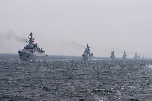 Các tàu chiến của Hải quân Trung Quốc