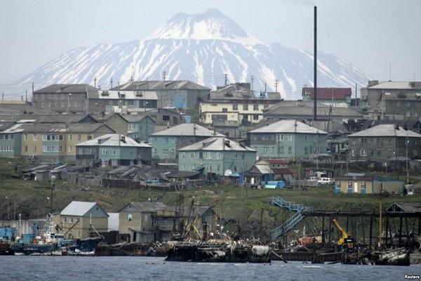 Quang cảnh đảo Kunashiri