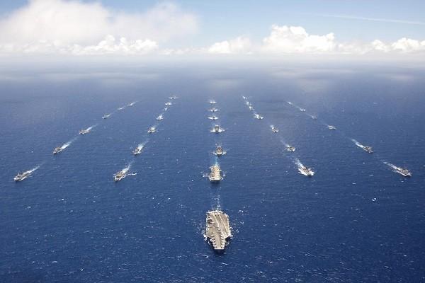 Đội tàu hùng hậu tham gia tập trận RIMPAC