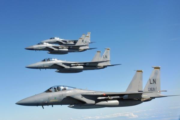 Máy bay chiến đấu F-15 của Mỹ