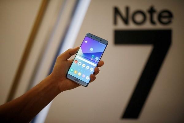 Samsung thông báo thu hồi Galaxy Note 7 hồi tuần trước