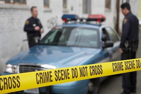Cảnh sát phong tỏa hiện trường vụ nổ súng