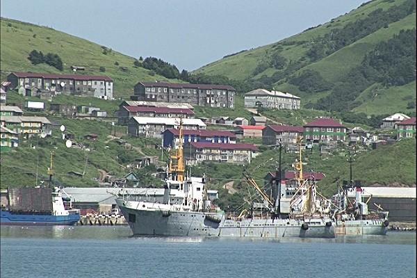 Shikotan, một trong 4 đảo Nga đang kiểm soát