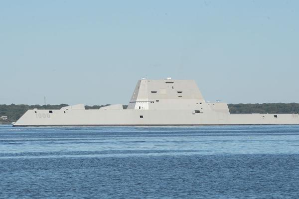 Tàu khu trục USS Zumwalt của Hải quân Mỹ