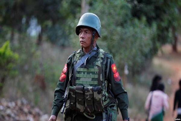 Binh sĩ quân đội Myanmar