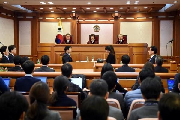 Toàn cảnh phiên điều trần tại tòa ngày 22-12